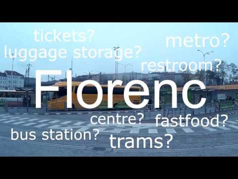 Getting around: Florenc bus terminal
