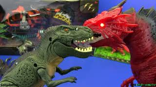 Download Dinosaurs toys - COMPILATION !!! Jurassic World toys for kids | 2 HOURS Video