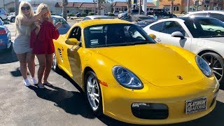 SURPRISING MY MOM WITH A PORSCHE!