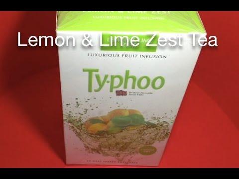 Typhoo Lemon and Lime Zest Tea
