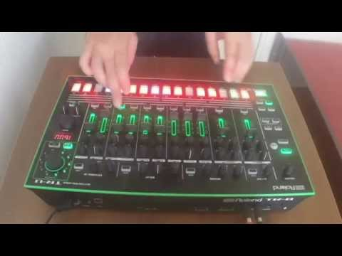 KiNK with Roland T.R. 8 test 2