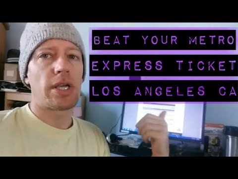 How to Beat Your MetroExpressLanes Violation