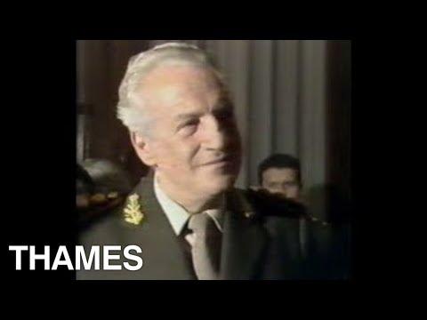 Exclusive General Galtieri interview | Falklands War | Kidnapped Journalist | TV Eye | 1982