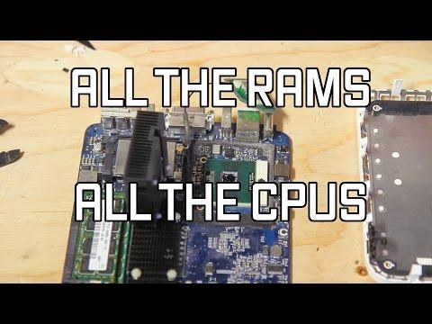 Upgrading the CPU and RAM in a 2006 mac mini