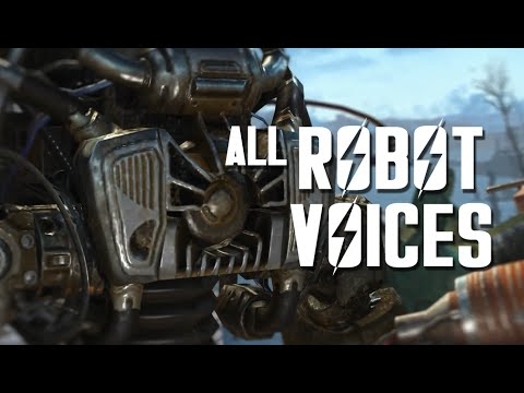 All Robot Voices at the Robot Workstation - Automatron for Fallout 4
