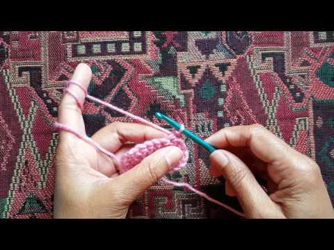 How to do single crochet (UK)/slip stitch (US): a Knittycat's Knits tutorial