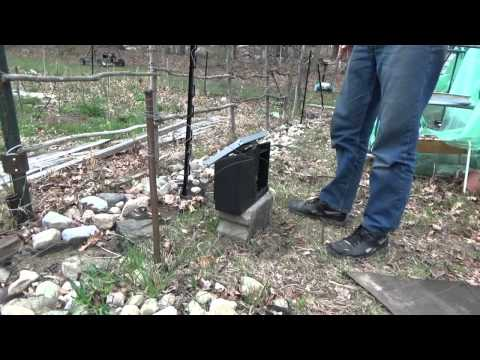 Repairing Electric Fence To Protect Chickens From Predators