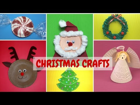 Christmas Crafts | Christmas Paper Plate Crafts for Kids