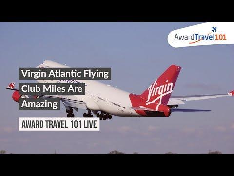Virgin Atlantic Flying Club Miles Are Amazing