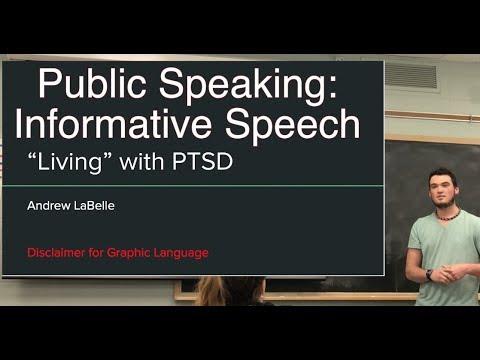 Informative Speech -