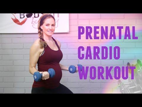 20 Minute Prenatal Cardio Workout