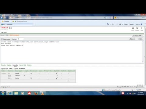 how to create new user in oracle database 10g EXE