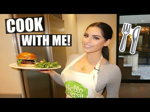 COOK WITH ME! HOW TO MAKE A BOMB BURGER