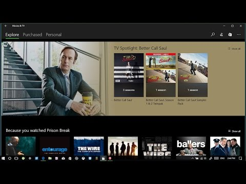 How to use mini mode in Movies & Tv windows 10