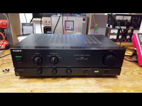 Sony TA-F110 Amplifier [2/2] - Repairs
