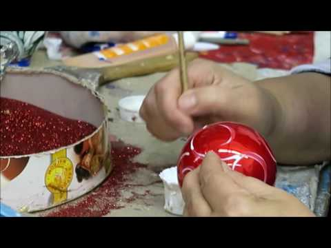 Wise Elk Christmas ornaments production