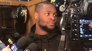 Steelers RB Le'Veon Bell talks about facing the Patriots