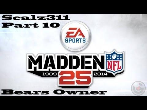 Let's Play Madden 25 Chicago Bears Owner Career Part 10 - Baltimore Ravens