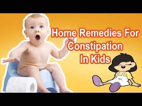 Home remedies for constipation in kids | Home remedies for constipation in babies