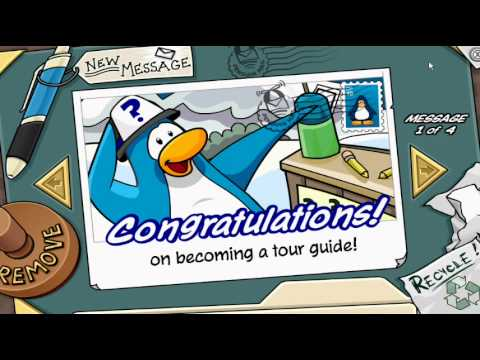How to become a Tour Guide on Club Penguin