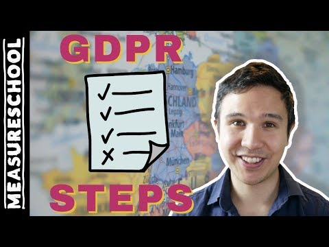GDPR Compliance - The steps that I take to prepare