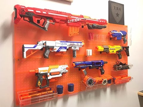 Tactical Nerf Wall - Tactical Baby Gear