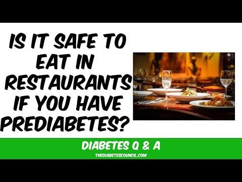 Prediabetes: What Do I Do If I Eat At A restaurant?