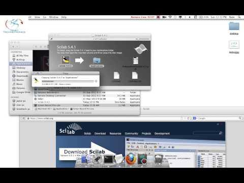 Tenet Technetronics: Installing_Scilab_on_mac