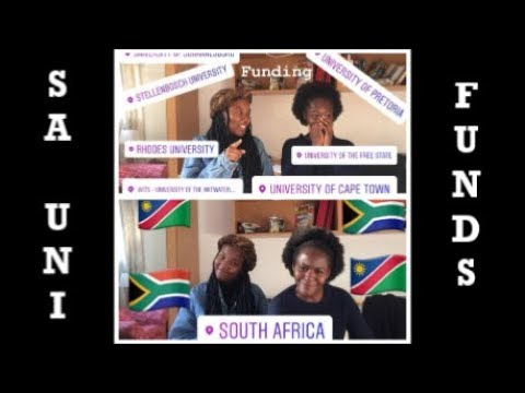 Namibians Applying to SA Universities | Funding | Hilya Iikuyu