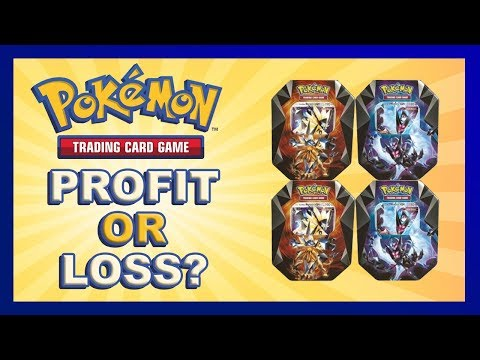 Profit or Loss - 4x Pokemon Tins