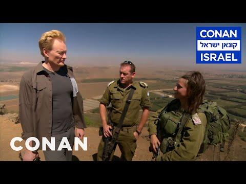 Conan Visits An Israeli Hospital On The Syrian Border  - CONAN on TBS