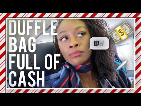 VLOGMAS DAY 17 | PASSENGER TRIED TO SMUGGLE MONEY ON PLANE | THE
