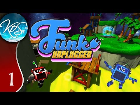 Funk Unplugged Ep 1: TROPICAL TRACK 1 - First Look - Let's Play, Gameplay