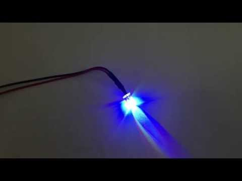 (Slow Flashing) 5mm Color LED Light Bulb Lamp Pre-Wired 12V DC