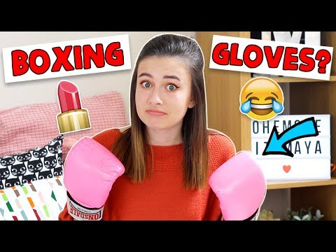 Full Face of Makeup Wearing BOXING GLOVES?!