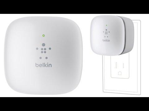 Belkin N300 Wall Mount Wi Fi Range Extender!