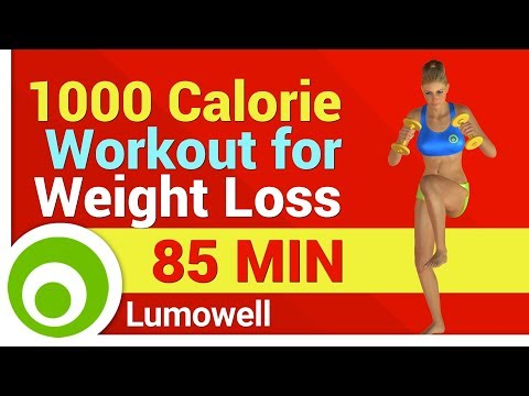 Burn 1000 Calories Workout for Weight Loss