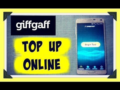 Buy GiffGaff Top Up Online - Voucher Code Delivered To Email.