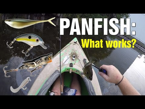 Panfish Lure Test:  What Actually Works?