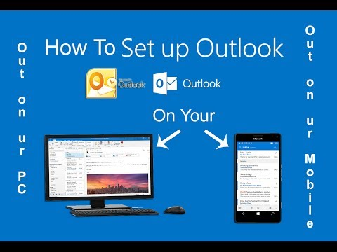 Microsoft Outlook Email Setup in your Mobile & Computer