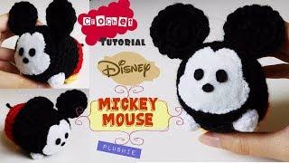 Mickey Mouse Amigurumi pattern - Disney Crochet pattern - Mickey ... | 180x320