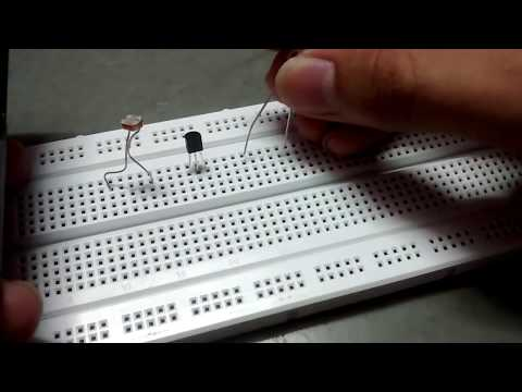 How to make a light sensor on breadboard-simple