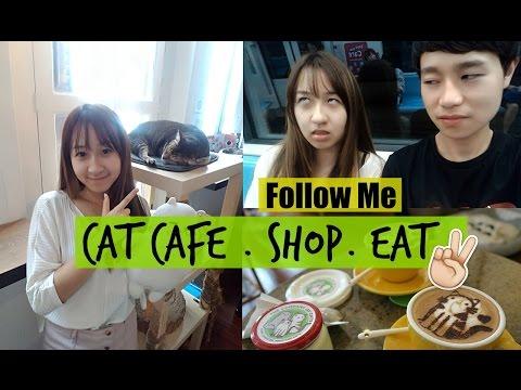 Follow Me To - cat cafe, shop & eat! ft.Szeming