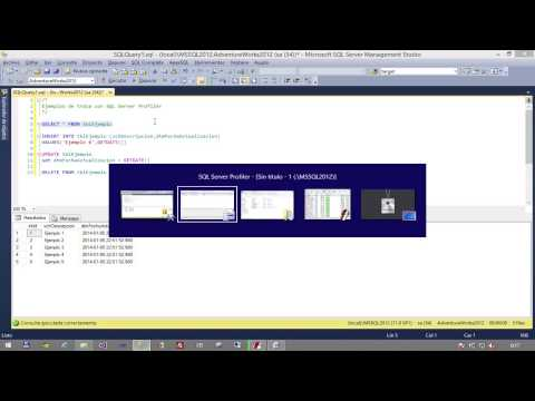 Introduccion a SQL Server Profiler