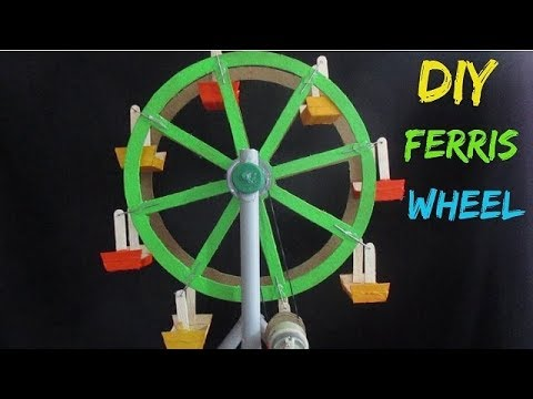 Ferris Wheel - How to make an Electric Ferris Wheel for a School Project