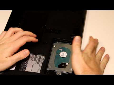 How to Upgrade Hard Disk Drive or SSD on Toshiba Satellite C655 Laptop