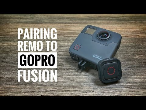 How To connect Remo Remote To GoPro Fusion