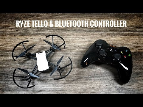 Using A BlueTooth Controller with Ryze Tello Drone
