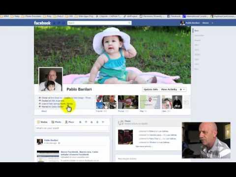 Facebook Nuevo Look... Cambio la cara de tu profile en facebook