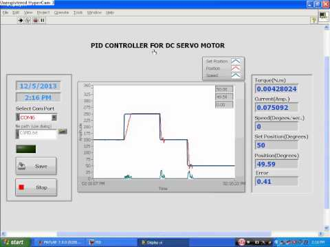 PID Controller For DC Servo Motor (Current, Speed, Position)